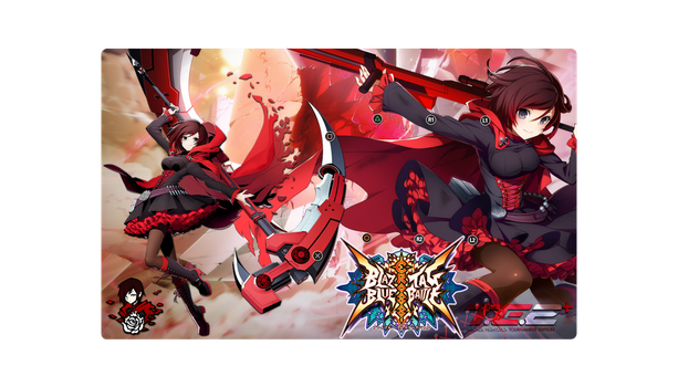 RUBY Cross Tag Fightstick by Untay