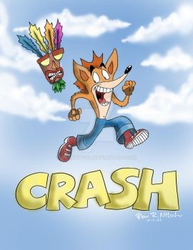 Crash Bandicoot - Ryan Nitsch by RyanNitsch