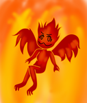 THIS GIRL IS ON FIRE!!!! (Art trade) by MissArtisticDraws