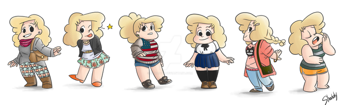 Sadie-Outfits by Shadaty