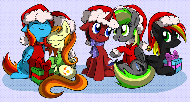 MERRY CHRISTMAS FOR MY FRIENDS :D by X-BlackPearl-X