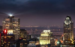Montreal Downtown Skyline by DanielComan