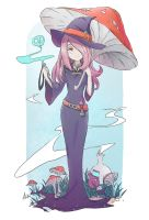 Sucy Manbavaran little witch academia) by AnALIBI