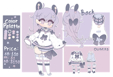 Space Bunny Adopt Auction (closed) by hopehin
