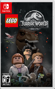 LEGO Jurassic World Fallen Kingdom Nintendo Switch by PeterisBeter