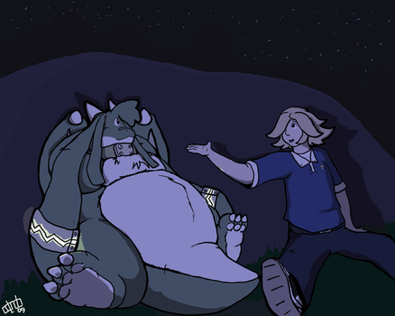 Pondering the Stars by Odendo