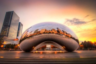Chicago Bean by alierturk