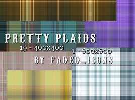 Pretty Plaids 002 by faded-ink
