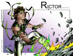 Rictor - Shockwaves by Dristin007