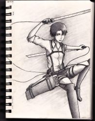 SNK - Levi by Ronny-F