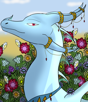[pc]- Surrounded By Flowers by poisondragon88