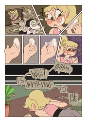 COMIC|Pinch of cosmic dust|Chapter 1|page 8 by Paryficama