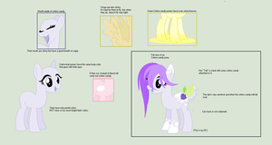 [NEW OPEN SPECIES] Cotton-Leaf pony by Yuumiee