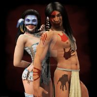 Native Blood by anitalee
