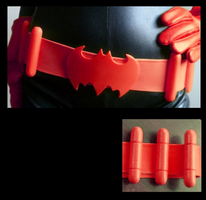 Batwoman Belt - Classic by 4thWallDesign