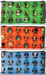 Starter pencil cases by ponymonster