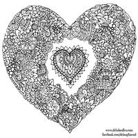 Doodle Heart by WelshPixie