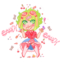 Candy Candy [Sticker] by gh0stbun