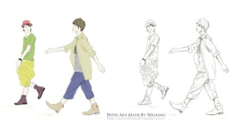 Paths Are Made By Walking by snowslotus