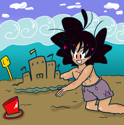 Sand castle by Chuquita
