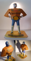 Guacamelee papercraft by MrQqn