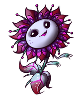 The alien flower by Call-Me-Fantasy