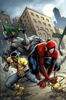 spiderman UK issue 127 by deemonproductions