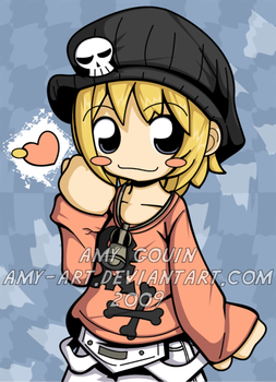 Rhyme - World Ends With You by amy-art