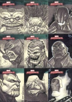 Marvel Masterpieces III Set 8 by jeffwamester