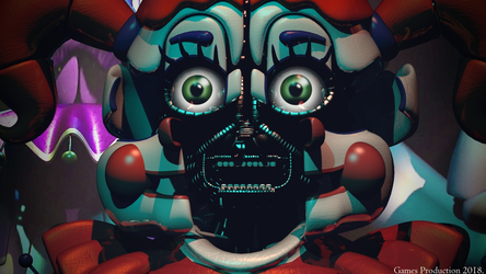 Circus Baby - Stage Wallpaper by GamesProduction