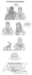 The Witcher 3: First impression by Adelaiy