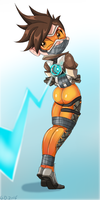 Tracer Bound and Gagged by gaggeddude32