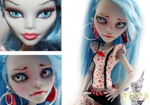 MH Ghoulia #1 ~Trista~ by RogueLively
