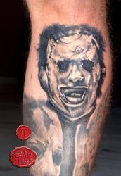 Leatherface tattoo by loop1974