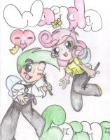 Cosmo and Wanda by IgotTheMagicHands
