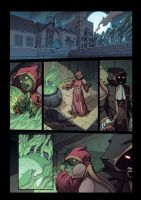 Night Wolf Comic Book Issue #1 Page 6 Colors by RAM-Horn