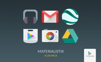 MATERIALISTIK ICON PACK by zaktech90