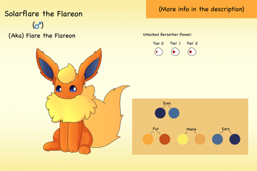 Bio: Flare the Flareon by PKM-150