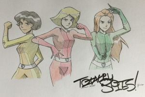 Totally Spies by MBloodriver