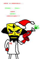 Merry Christmas- From Cortex by WolfTron