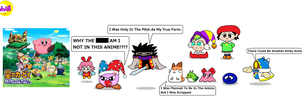 Kirby Characters That Never Appeared In The Anime by Noahharrington17