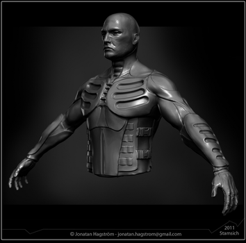 Exo-suit by Stamsich