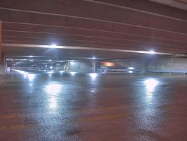 Parking Garage HDR by vidthekid