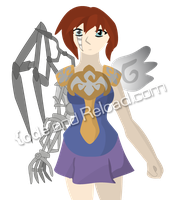 Character 02: Weaponized Knighted Angel by CodeAndReload
