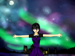 Night Sky by ghostgirl1245