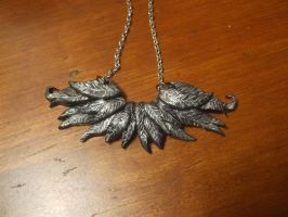 Fallen Angel's Wings Necklace by XxSierraRose