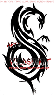 Slipknot Phoenix Tribal Tattoo by WildSpiritWolf