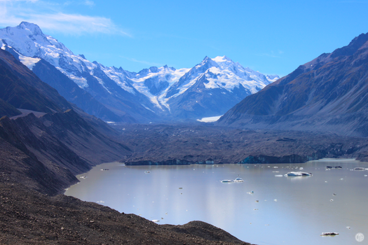 Tasman Glacier and Lake by MrsSpock