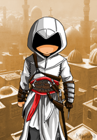 Altair (Assassins Creed) by Hikari-15-L
