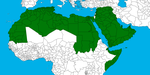 Arab World (Countries Subdivisions) by FametSuri
